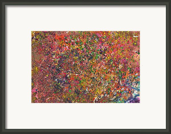 Abstract - Crayon - A Genuine Fiasco Framed Print By Mike Savad