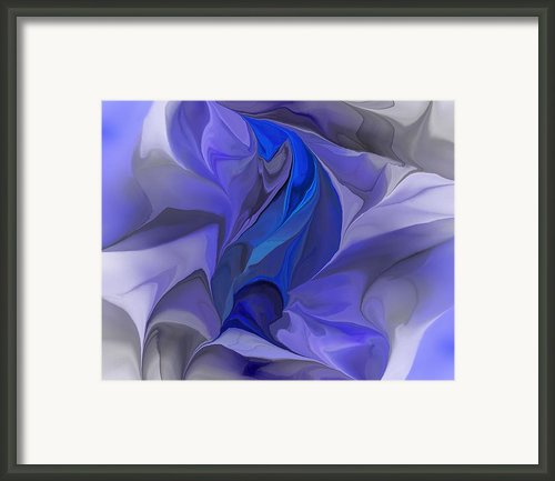 Abstract 032912a Framed Print By David Lane