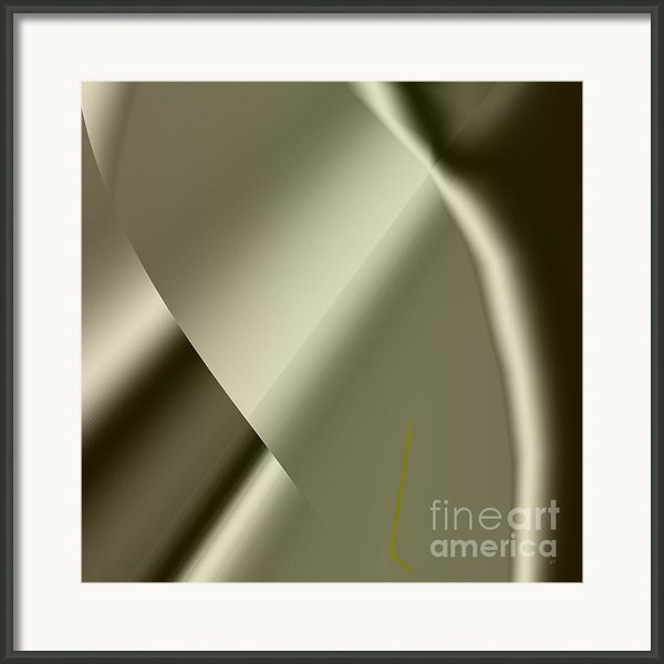 Abstract 1002 Framed Print By Gerlinde Keating - Keating Associates Inc