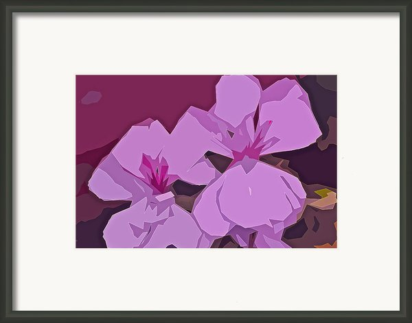 Abstract 144 Framed Print By Pamela Cooper