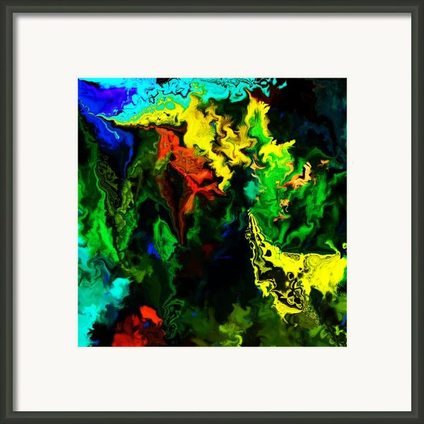 Abstract 2-23-09 Framed Print By David Lane