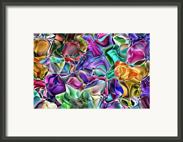 Abstract 2 Framed Print By Mauro Celotti