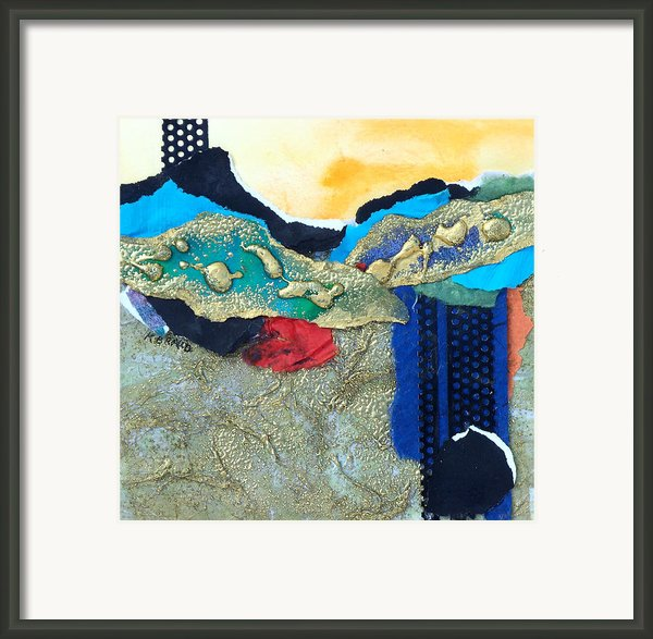 Abstract 2011 No.2  Framed Print By Kathy Braud