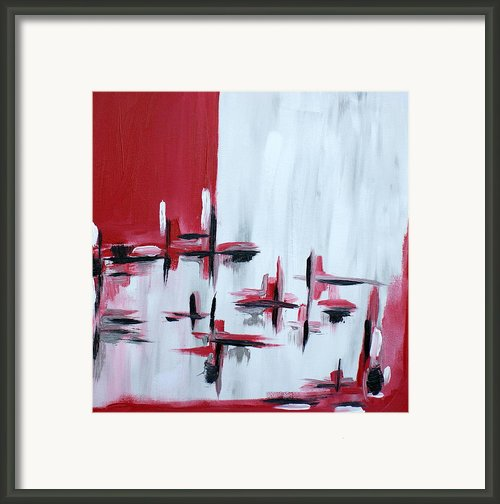 Abstract 27 Framed Print By Sandra Conceicao