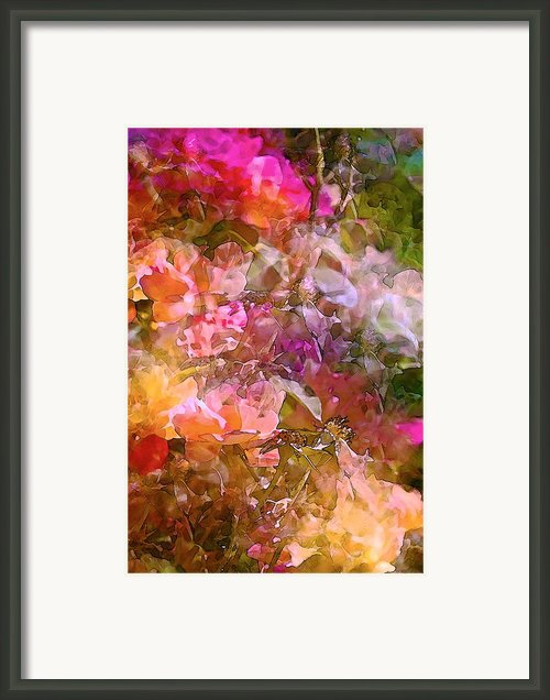 Abstract 276 Framed Print By Pamela Cooper