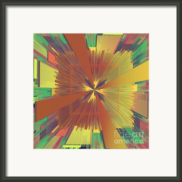 Abstract 4 Framed Print By Deborah Benoit