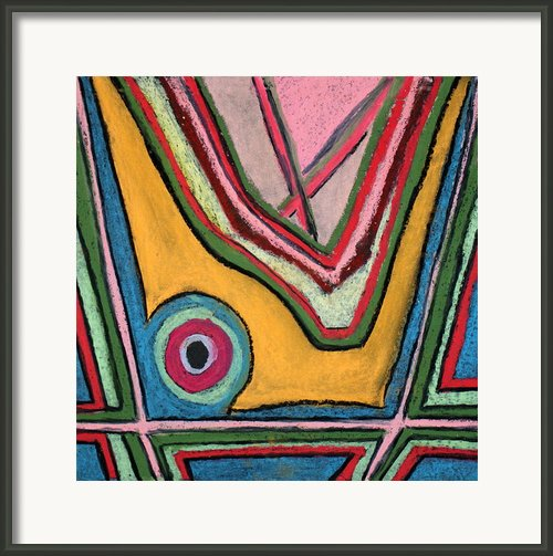 Abstract 55 Framed Print By Sandra Conceicao