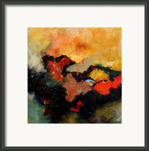 Abstract 8080 Framed Print By Pol Ledent