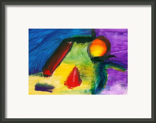 Abstract - Acrylic - Primitives Framed Print By Mike Savad
