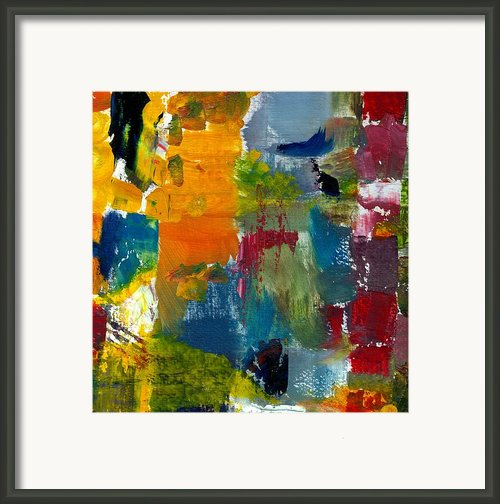 Abstract Color Relationships Ll Framed Print By Michelle Calkins