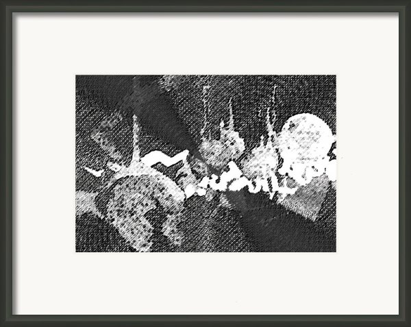 Abstract Composition Framed Print By Natoly Art