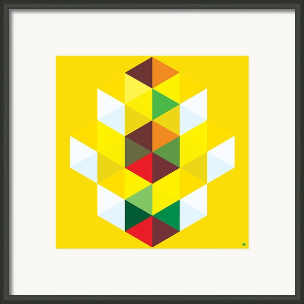 Abstract Cubes Framed Print By Gary Grayson