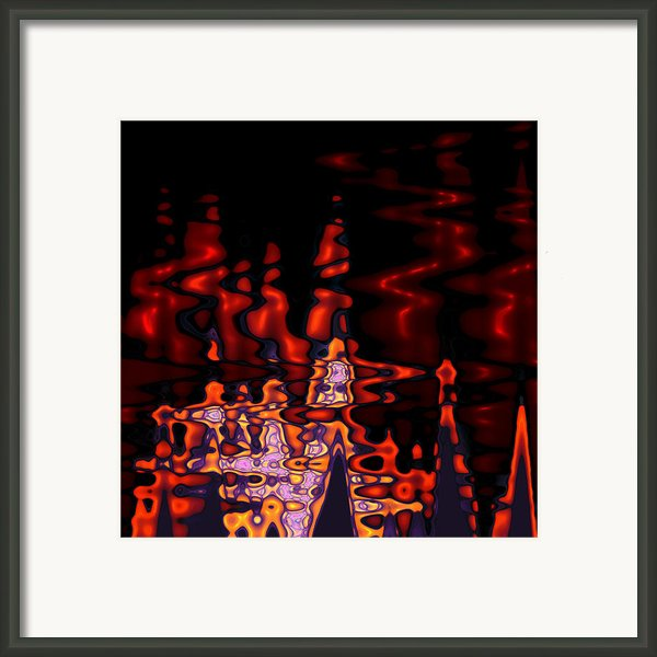 Abstract Fractals 1 Framed Print By Stefan Kuhn