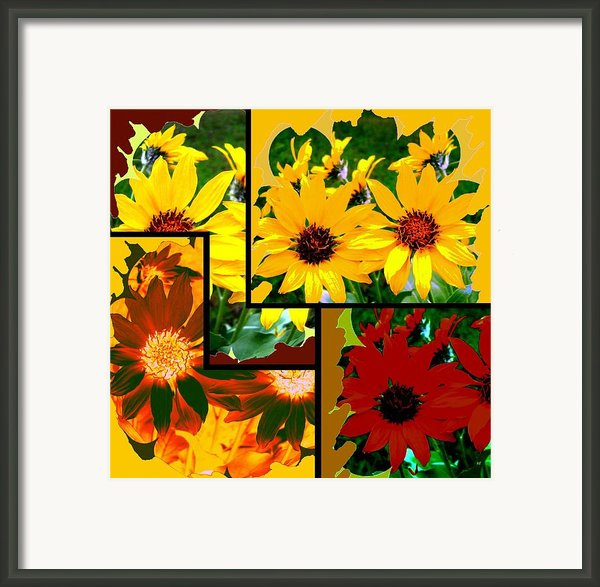 Abstract Fusion 99 Framed Print By Will Borden