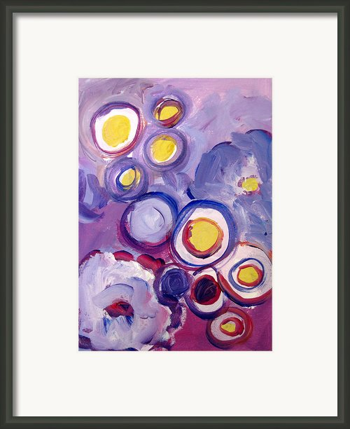 Abstract I Framed Print By Patricia Awapara