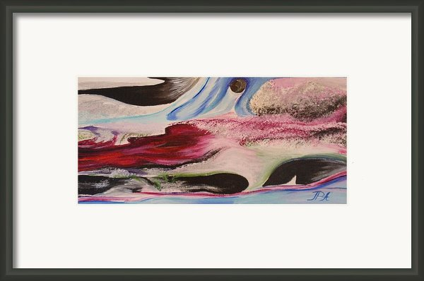Abstract I Framed Print By Tatjana Popovska