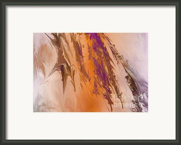 Abstract In July Framed Print By Deborah Benoit