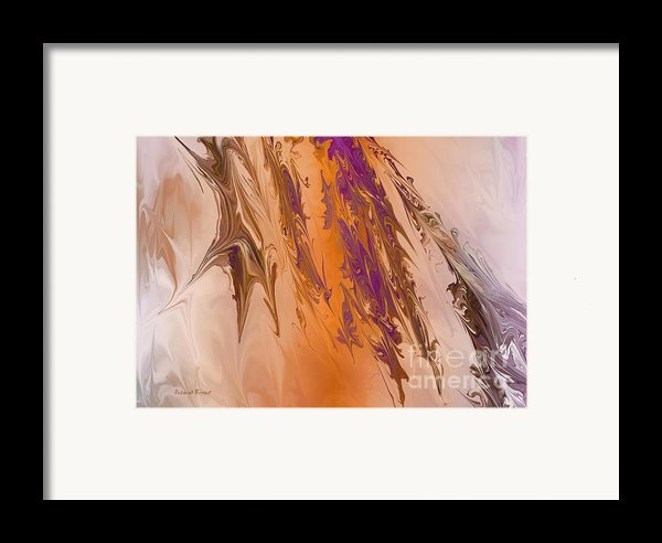 Abstract In July Framed Print By Deborah Benoit