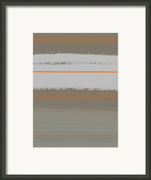 Abstract Orange 4 Framed Print By Irina  March