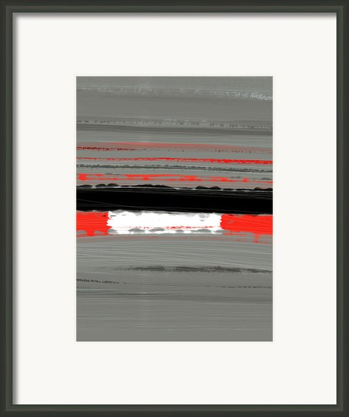 Abstract Red 4 Framed Print By Irina  March
