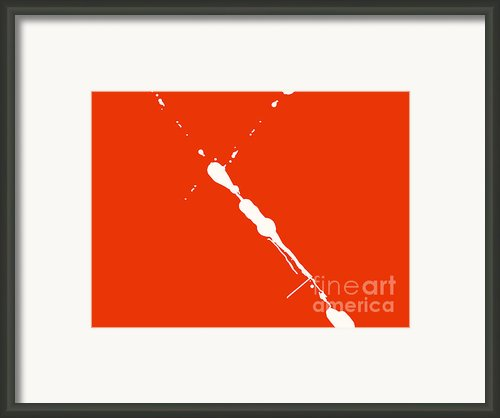 Abstract Splash 7 Framed Print By Pixel Chimp