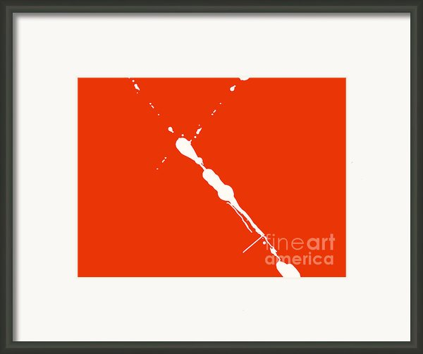 Abstract Splash 7 Framed Print By Pixel Chimp