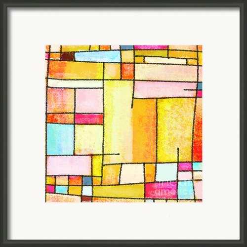 Abstract Town Framed Print By Setsiri Silapasuwanchai