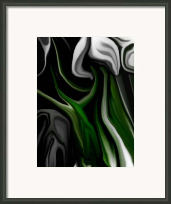 Abstract309h Framed Print By David Lane