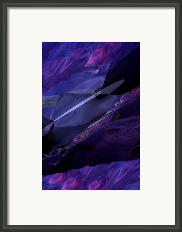 Abstractbr6-1 Framed Print By David Lane
