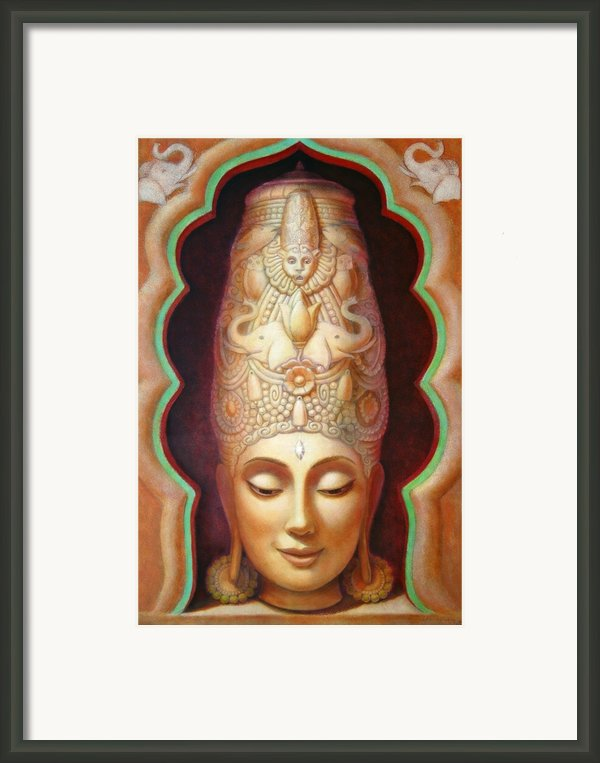 Abundance Meditation Framed Print By Sue Halstenberg