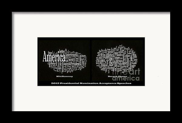 Acceptance Speeches Framed Print By David Bearden