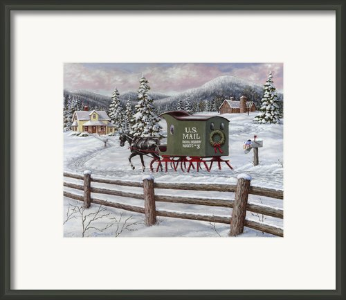 Across The Miles Framed Print By Richard De Wolfe