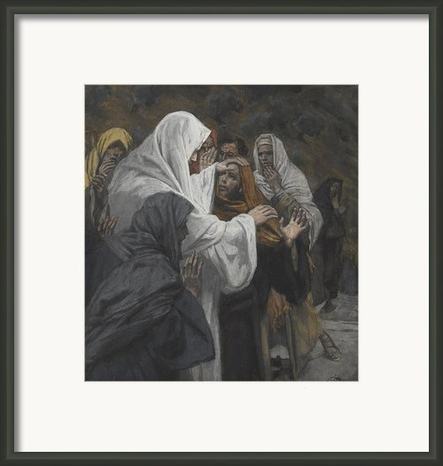 Address To Saint Philip Framed Print By Tissot