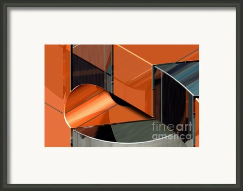 Admin Fabrication Series No.1 - Superduct V2 Large Section 60 X 40 Darker Framed Print By Michael C Geraghty
