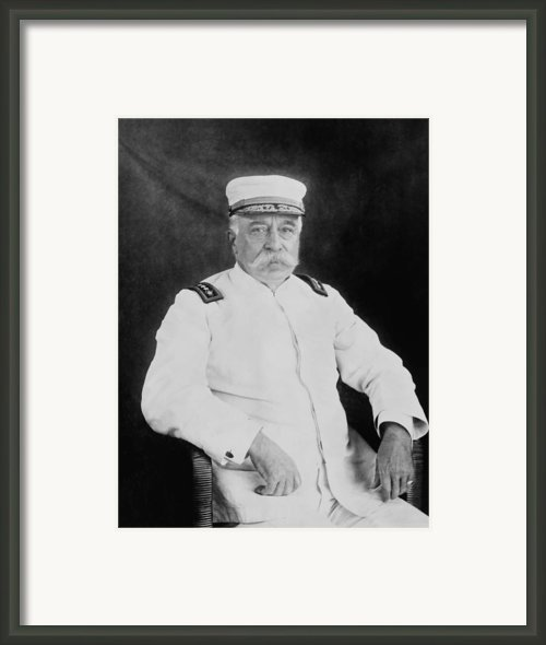 Admiral George Dewey Framed Print By War Is Hell Store