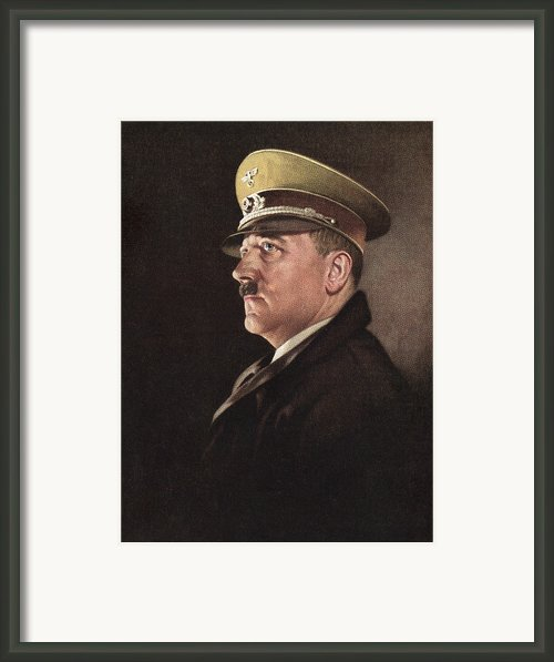 Adolf Hitler, Ca. 1930s Framed Print By Everett