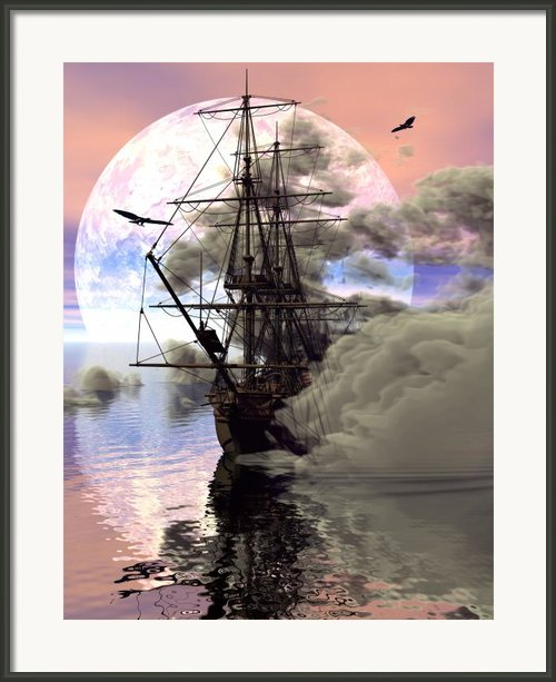 Adrift Framed Print By Claude Mccoy