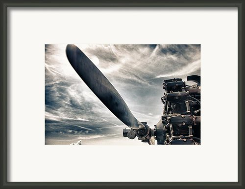 Aero Machine Framed Print By Nathan Larson