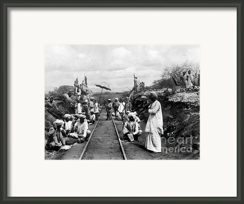Africa: Railway, C1905 Framed Print By Granger