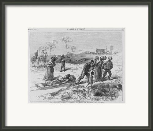 African American Gathering The Dead Framed Print By Everett