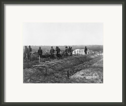 African-american Soldiers Of The 321st Framed Print By Everett