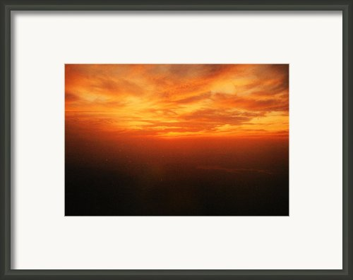 African Sky Framed Print By Kehinde Thompson