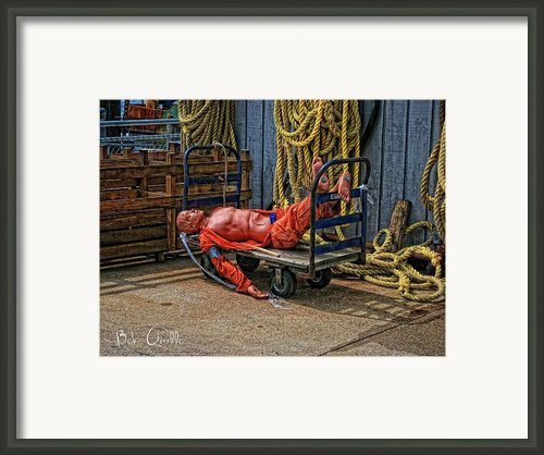 After A Hard Day At Sea Framed Print By Bob Orsillo
