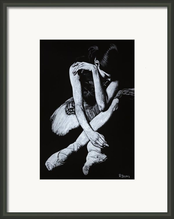 After The Performance Framed Print By Richard Young