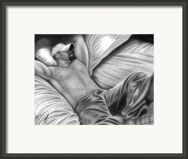 Afternoon Nap Framed Print By Brent  Marr