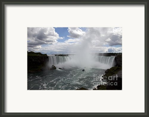 Against The Current Framed Print By Amanda Barcon
