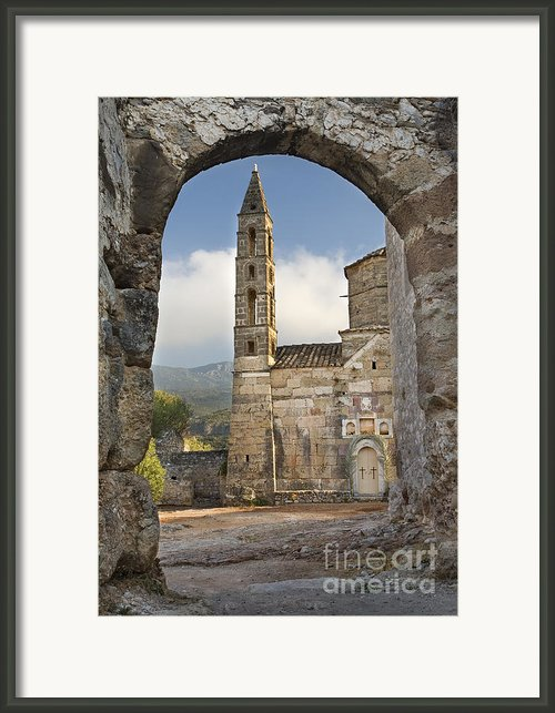 Agios Spiridon Framed Print By Richard Garvey-williams
