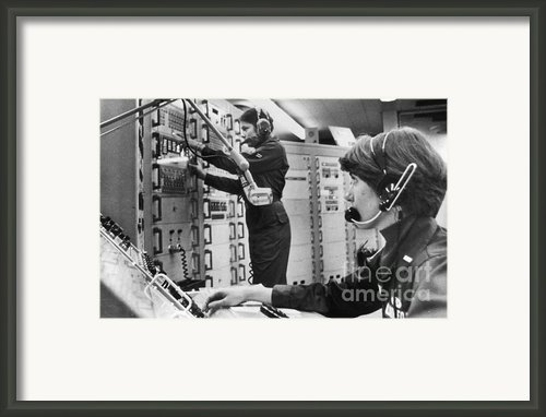 Air Force Crew, 1978 Framed Print By Granger
