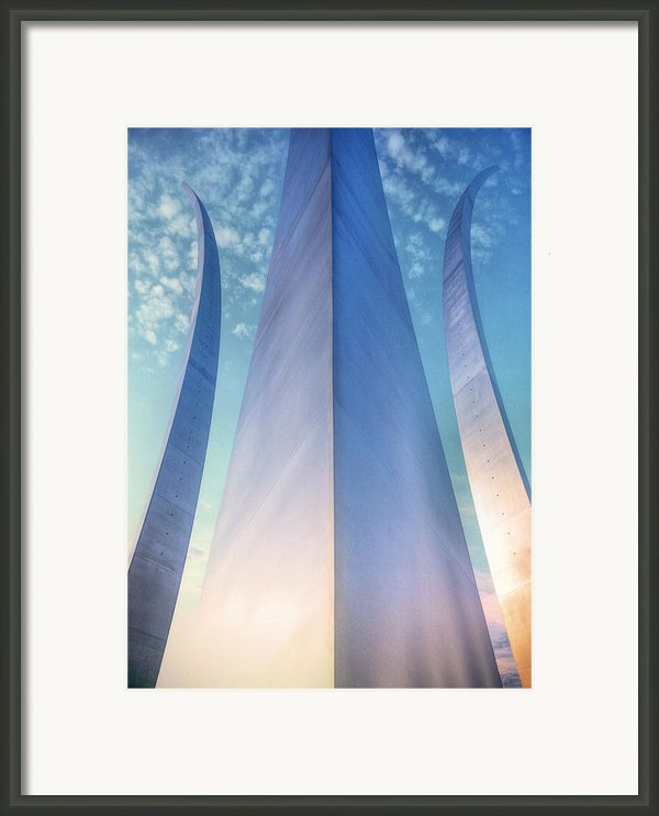 Air Force Memorial Framed Print By Jc Findley