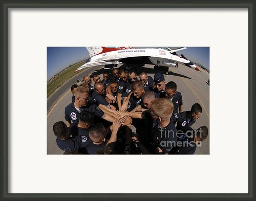 Air Force Thunderbird Maintainers Bring Framed Print By Stocktrek Images